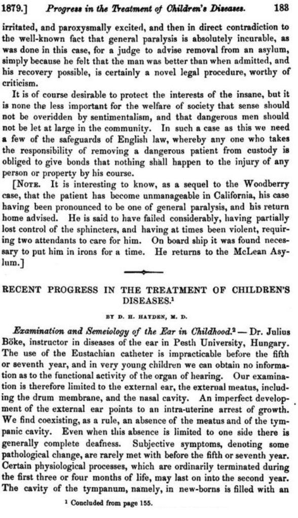 Recent Progress in the Treatment of Children's Diseases